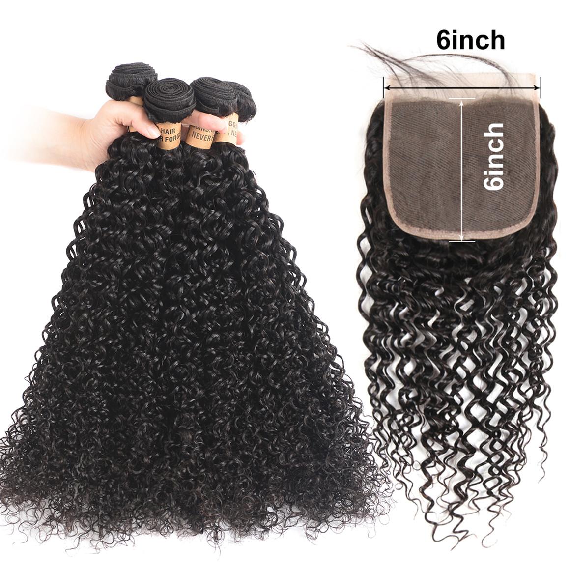 Human Hair Curly Hair